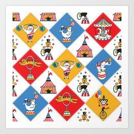 Baby Circus Art Print
