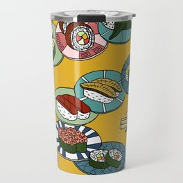 Kuru Kuru Sushi Train Travel Mug