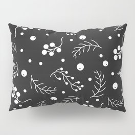 Small Berries and Spruce Twigs Pillow Sham