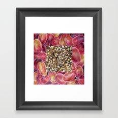 Fresh: Grapes Framed Art Print
