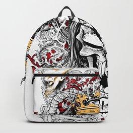 Devourer Skull King Graphic Design Backpack