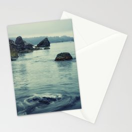 Beauty in Old Home Beach Stationery Cards
