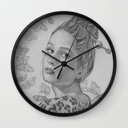 """Papillon"" Wall Clock"