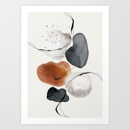 Abstract World Art Print