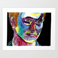 david tennant Art Prints featuring Tenth Doctor / David Tennant by Siriusreno