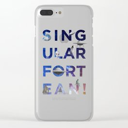 The Universe of Singular Fortean Clear iPhone Case