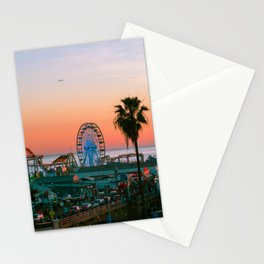 Sunset on the Pier Stationery Cards