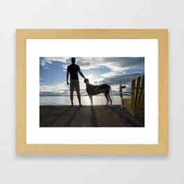 Regal Gentlemen Framed Art Print