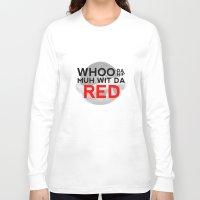 mario kart Long Sleeve T-shirts featuring Drunk Mario Kart - Whoo da hip me... by Black_nerd