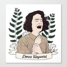 Twin Peaks (David Lynch) Donna Hayward Canvas Print