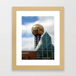 Sunsphere Framed Art Print