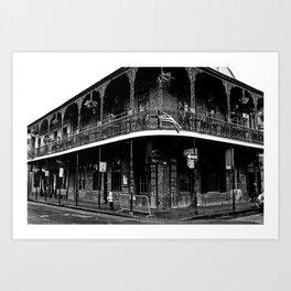 Bourbon Street, New Orleans Art Print