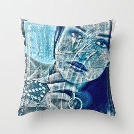 Slave Girl Throw Pillow