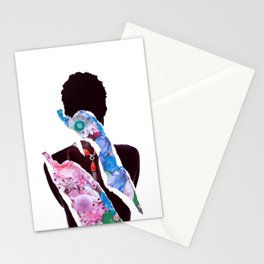 What breaks us only makes us stronger Stationery Cards