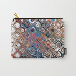 Abstract Glass Beads Carry-All Pouch