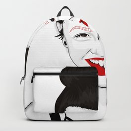Happy independant woman strong and healthy Backpack