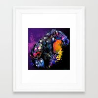venom Framed Art Prints featuring Venom by Vincent Vernacatola