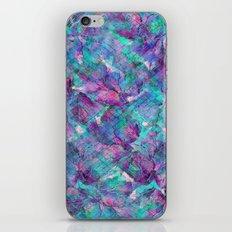 Frozen Leaves 2 iPhone & iPod Skin