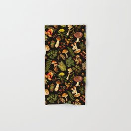 Vintage & Shabby Chic - Autumn Harvest Black Hand & Bath Towel
