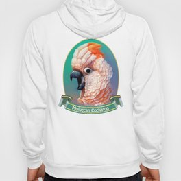 Moluccan Cockatoo realistic painting Hoody