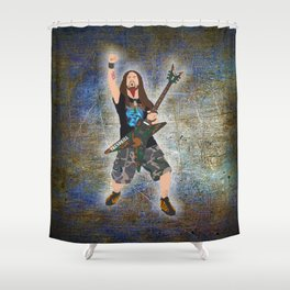 Dimebag (Vector Art) Shower Curtain
