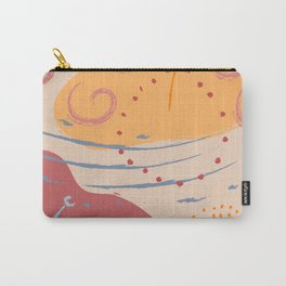 Abstract Pattern Modern Art 13 Carry-All Pouch