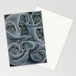 Sloth Pile Stationery Cards