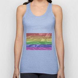 Gay Pride Flag Unisex Tank Top