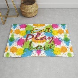 Eat Play Love Rug