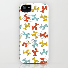 Balloon dogs iPhone Case