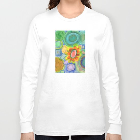 A closer Look at the Flower  Universe Long Sleeve T-shirt