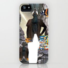 HuWayGo - collab collage iPhone Case