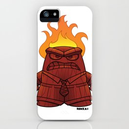 Tiki God of Anger iPhone Case