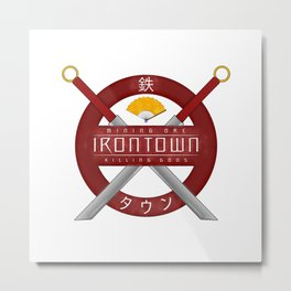 IRONTOWN - Studio Ghibli Metal Print