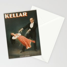 Vintage poster - Kellar the Magician Stationery Cards