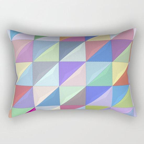 Geometric Shapes I Rectangular Pillow