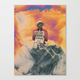 What the Fuck Canvas Print