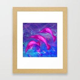 Dolphin Fantasy 2 Framed Art Print