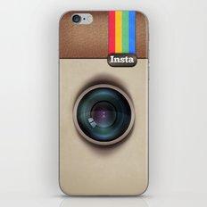 Insta Case Cam iPhone & iPod Skin