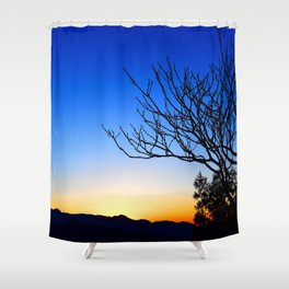 View From The Top (of The Great Wall of China) Shower Curtain