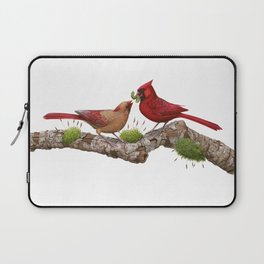 Northern  Cardinals Laptop Sleeve