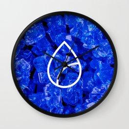 Lapis Lazuli Candy Gem Wall Clock