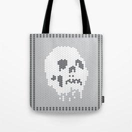 Skull Tile Tote Bag