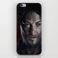 daryl iPhone & iPod Skins featuring Daryl by Voss fineart