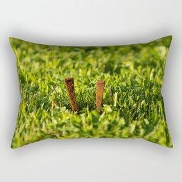 Les clous Rectangular Pillow