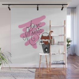 Love Music Wall Mural