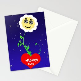 Smiling Daisies Stationery Cards