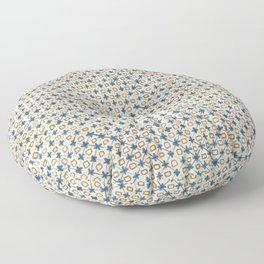 Holly Cross Floor Pillow