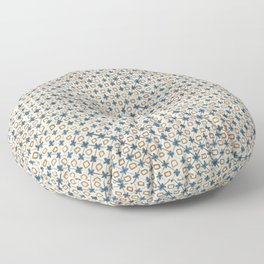 Holly Cross Floor Pillow