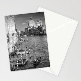 VENICE Canal Grande & Santa Maria della Salute   Monochrome Stationery Cards